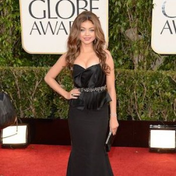 Golden Globe Awards 2013: Sarah Hyland Breaks Out in Hives Right Before the Show!