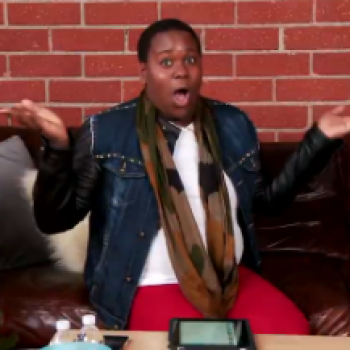 Separated at Birth? Glee's Alex Newell and Amber Riley!