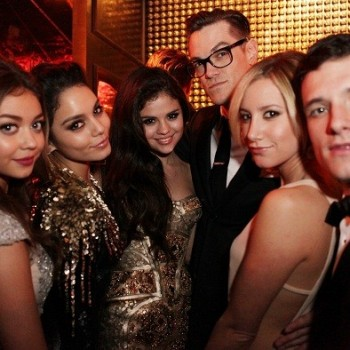 Selena Gomez Spotted Hanging Out with Josh Hutcherson at Golden Globes After Party!