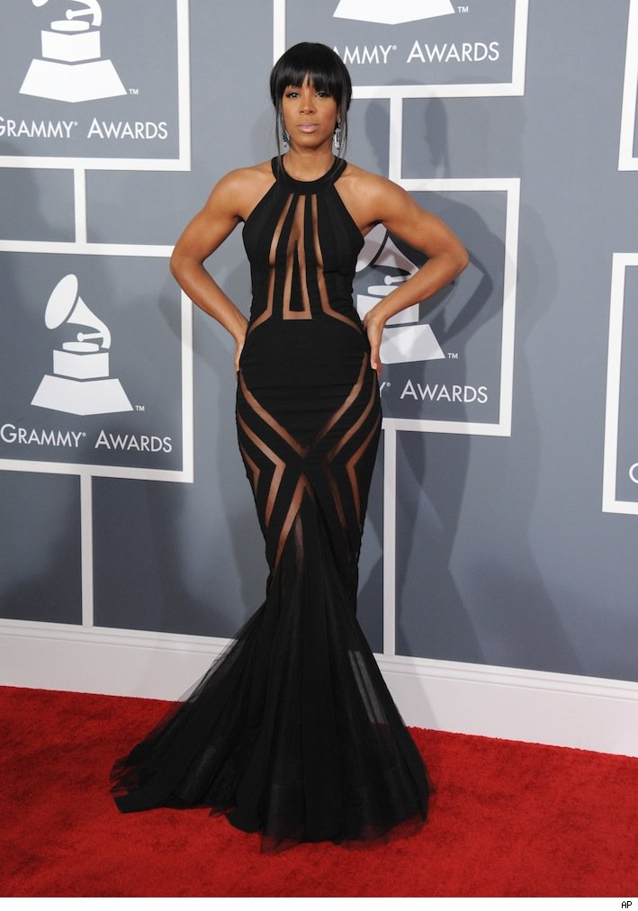Kelly Rowland Dresses On The Red Carpet - More information