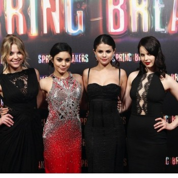 "Vanessa Hudgens Says She Wants to ""Shock People"" With 'Spring Breakers'"