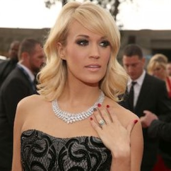 "Carrie Underwood at the Grammys: ""I'm Afraid Someone's Going to Tackle Me!"""