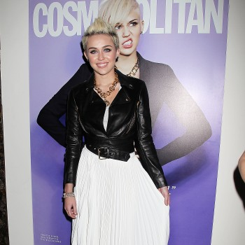 Miley Cyrus Does Fashion Week...Was She Looking For A Wedding Dress?