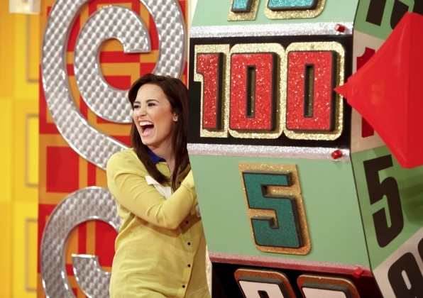 Demi Lovato on the Price is Right video