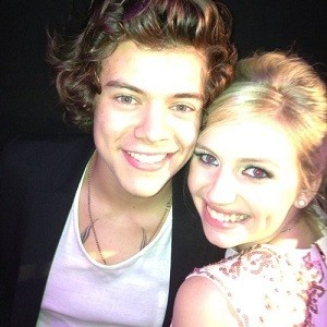 Olivia McKee and Harry Styles