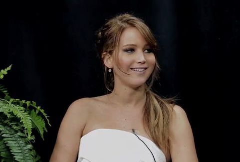 Jennifer Lawrence Between Two Ferns Zach Galifianakis