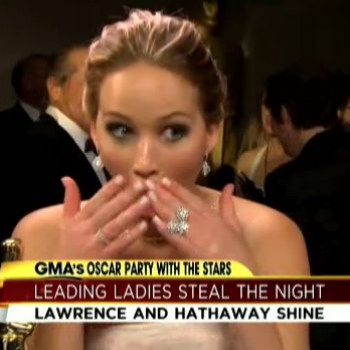 Who Did Jennifer Lawrence Forget to Thank During Her Oscar Speech?