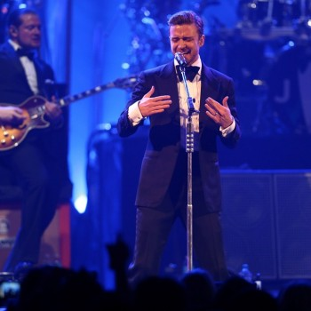 Justin Timberlake Peforms at Super Bowl Bash...Did He Diss Britney Spears?