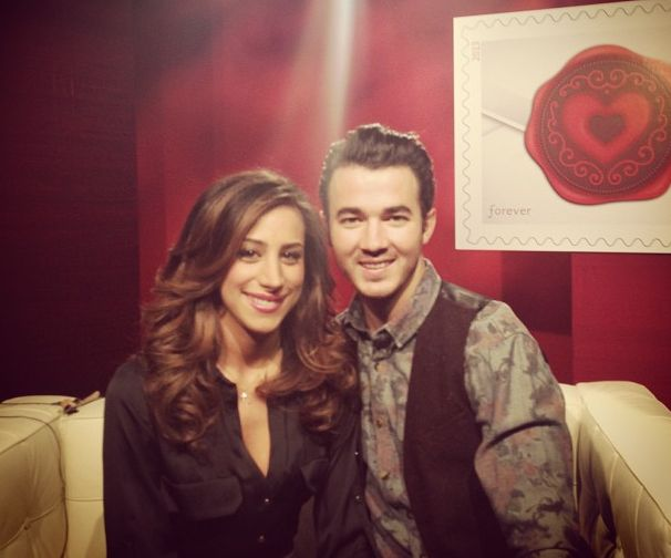 Kevin and Danielle Jonas Sealed with Love stamp Valentine's Day