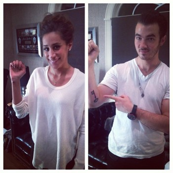 Check Out Kevin and Danielle Jonas' New Tattoos!