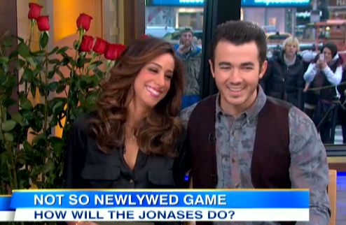 Kevin and Danielle Jonas on GMA