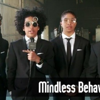 "Mindless Behavior: Peep Footage From Their Upcoming ""Keep Her On The Low"" Music Video! (EXCLUSIVE!)"