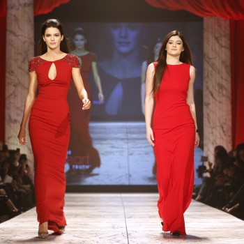 See Kendall and Kylie Jenner Walk the Runway!