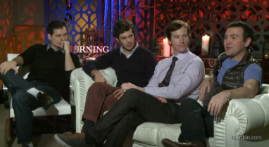 'Burning Love' junket.