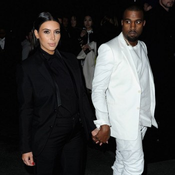 Kim Kardashian & Kanye West Hit Paris Fashion Week