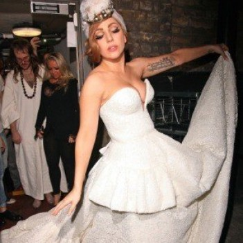 Has Lady Gaga Already Picked a Wedding Dress?