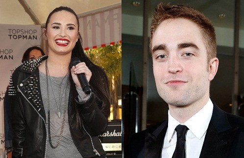 Demi Lovato and Robert Pattinson