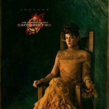 First Look: Jena Malone as Johanna in 'Catching Fire' Capitol Portrait!