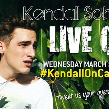 Couch Sesh: Kendall Schmidt Live Video Q and A!