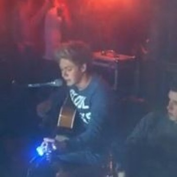 Niall Horan &quot;Little Things&quot; Solo in Irish Pub Video: Watch!