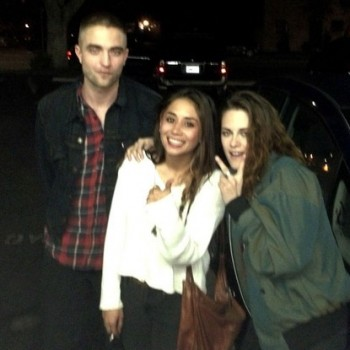 Kristen Stewart and Rob Pattinson Reunite in LA!