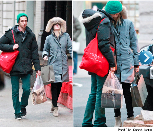 Andrew Garfield and Emma Stone out in NYC.