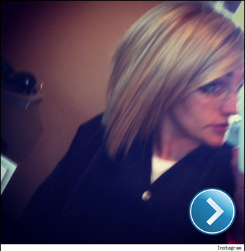 Jamie Lynn Spears instagram pic of new haircut.