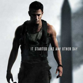 'White House Down' Channing Tatum Poster: Exclusive First Look!