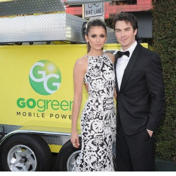 Nina Dobrev and Ian Somerhalder Attend Same Event in NYC