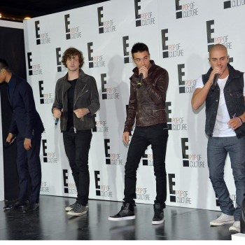 'The Wanted' Perform at E! Upfronts Sans Nathan Sykes, Say They Love Kardashians
