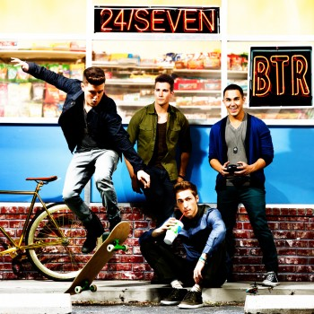 Big Time Rush's '24/Seven' Album Cover First Look! (EXCLUSIVE)
