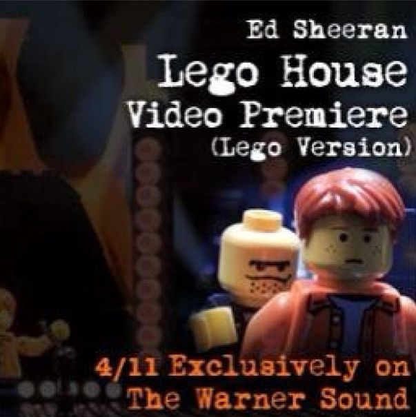 Ed Sheeran Lego House music video Lego version