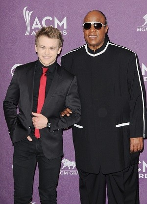 Hunter Hayes and Stevie Wonder