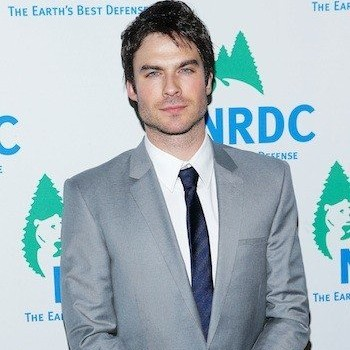 When 'Vampire Diaries' Star Ian Somerhalder Commits, He Commits!