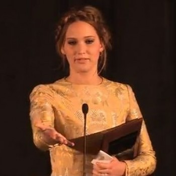 Jennifer Lawrence: Hilariously Adorable Acceptance Speech Video Goes Viral