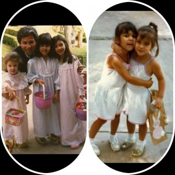 Kim Kardashian Shares Old Easter Pics with Her Siblings!