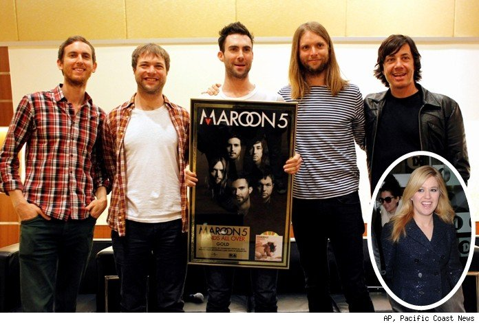 Maroon 5 and Kelly Clarkson
