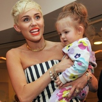 "Miley Cyrus Already Known as ""Aunt Miley"" to Hemsworth Kids"