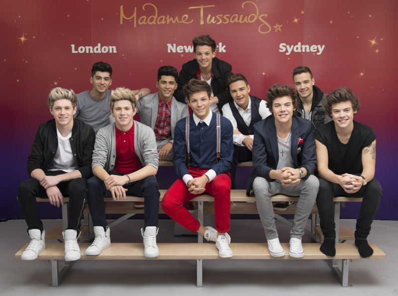 One Direction finished wax figures revealed pics