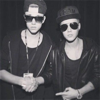 Justin Bieber Lookalike Robin Verrecas Meets Justin, Has Disappointing Time (CLICKWORTHY!)