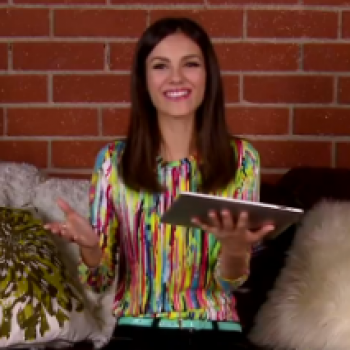 "Victoria Justice: ""I'd Want to Be, Like, Caressed All the Time"" (You Asked!)"