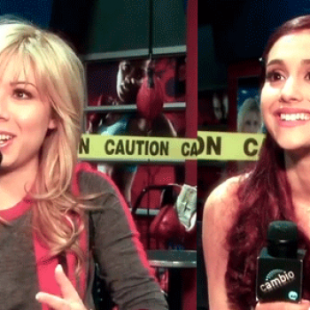 Ariana Grande and Jennette McCurdy on 'Sam and Cat': The Babysitting Isn't All Acting!