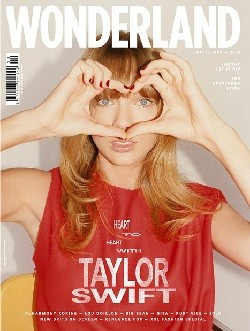 Taylor Swift Wonderland magazine cover