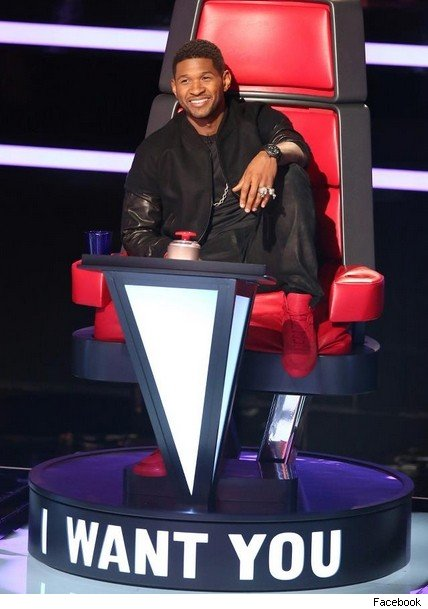Usher 2013 The Voice Are  The Voice  Judges Adam