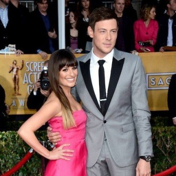 'Glee' Stars Lea Michele and Cory Monteith Return Home to Hollywood in Time for Finale!
