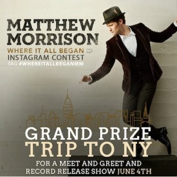Matthew Morrison Debuts New Single and Offers Fans a Chance to Meet Him!