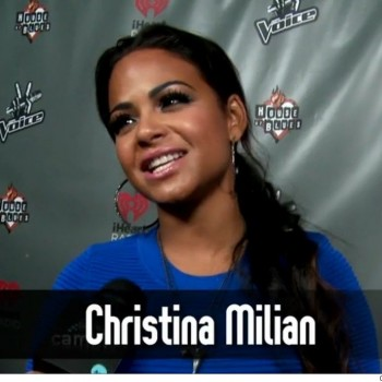 Christina Milian Says 'The Voice' Backstage Is Like a Daycare
