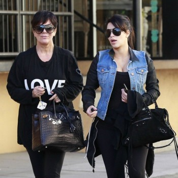 Is Kris Jenner Trying to Profit Off of Kim Kardashian's Weight Gain?