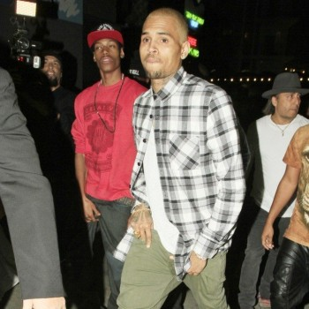 Chris Brown Celebrates Birthday with Ex-Girlfriend, Karrueche Tran