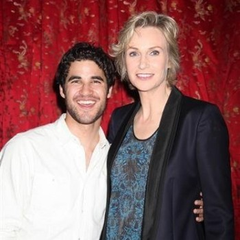 The 'Glee' Club Showed Their Support for Jane Lynch on Broadway!